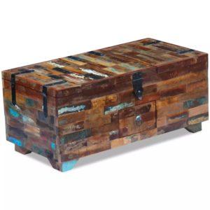 kohvilaud-kirst taastatud puidust 80 x 40 x 35