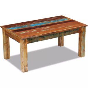 kohvilaud taastatud puidust 100 x 60 x 45 cm