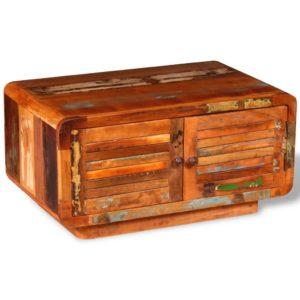 kohvilaud taastatud puidust 80 x 50 x 40