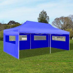 kokkupandav peotelk 3 x 6 m sinine