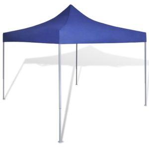 kokkupandav peotelk sinine 3 x 3 m / paviljon