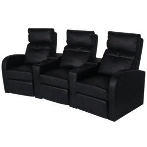 kolme eraldi istekohaga diivan