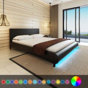 kunstnahast voodi 160 x 200 cm