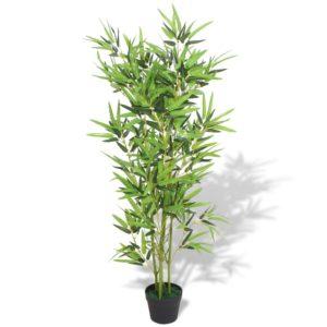 kunsttaim bambus potiga 120 cm