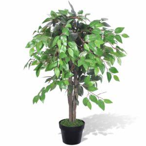 kunsttaim viigipuu koos potiga 90 cm