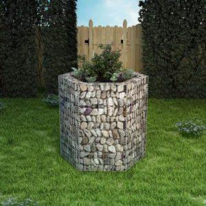 kuusnurkne gabioon-taimekast