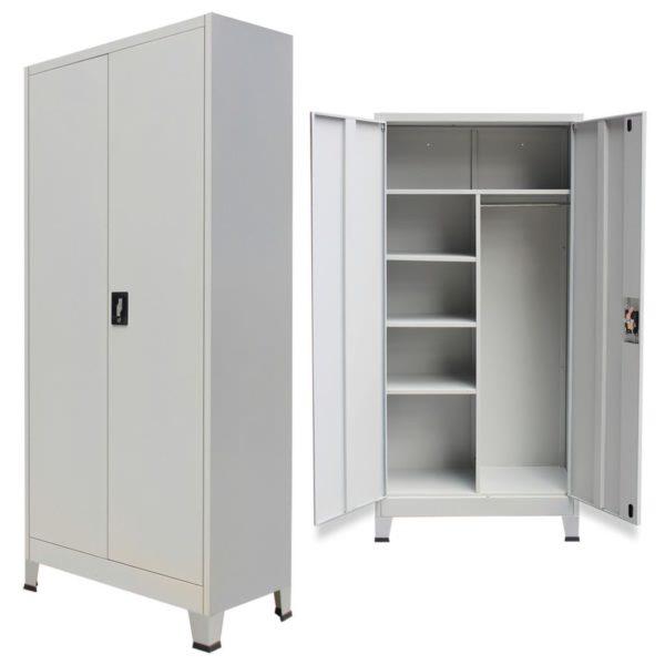lukustatav hoiukapp kahe uksega