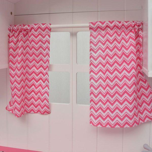 puidust 82 x 30 x 100 cm roosa ja valge