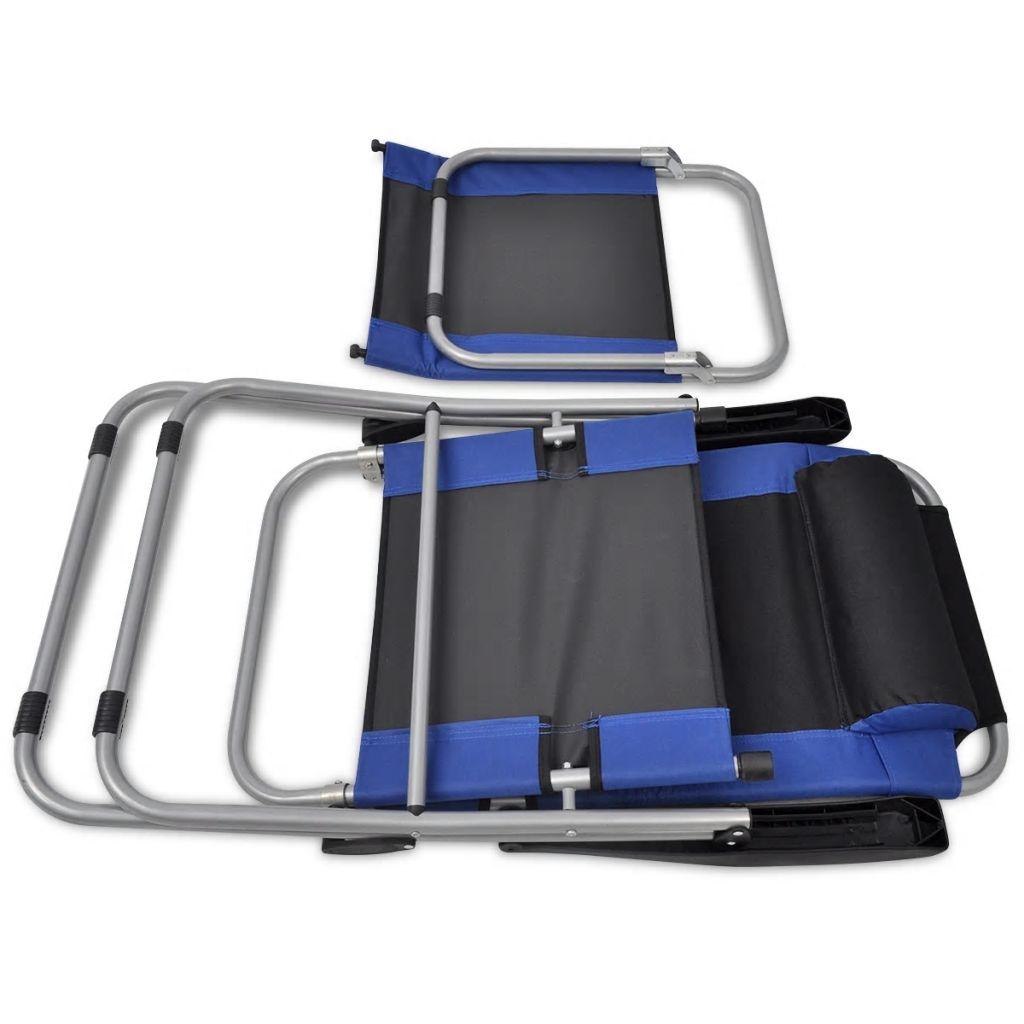 7d53a3aa1a0 matkatool 2 tk sinine ja must. matkatool ...