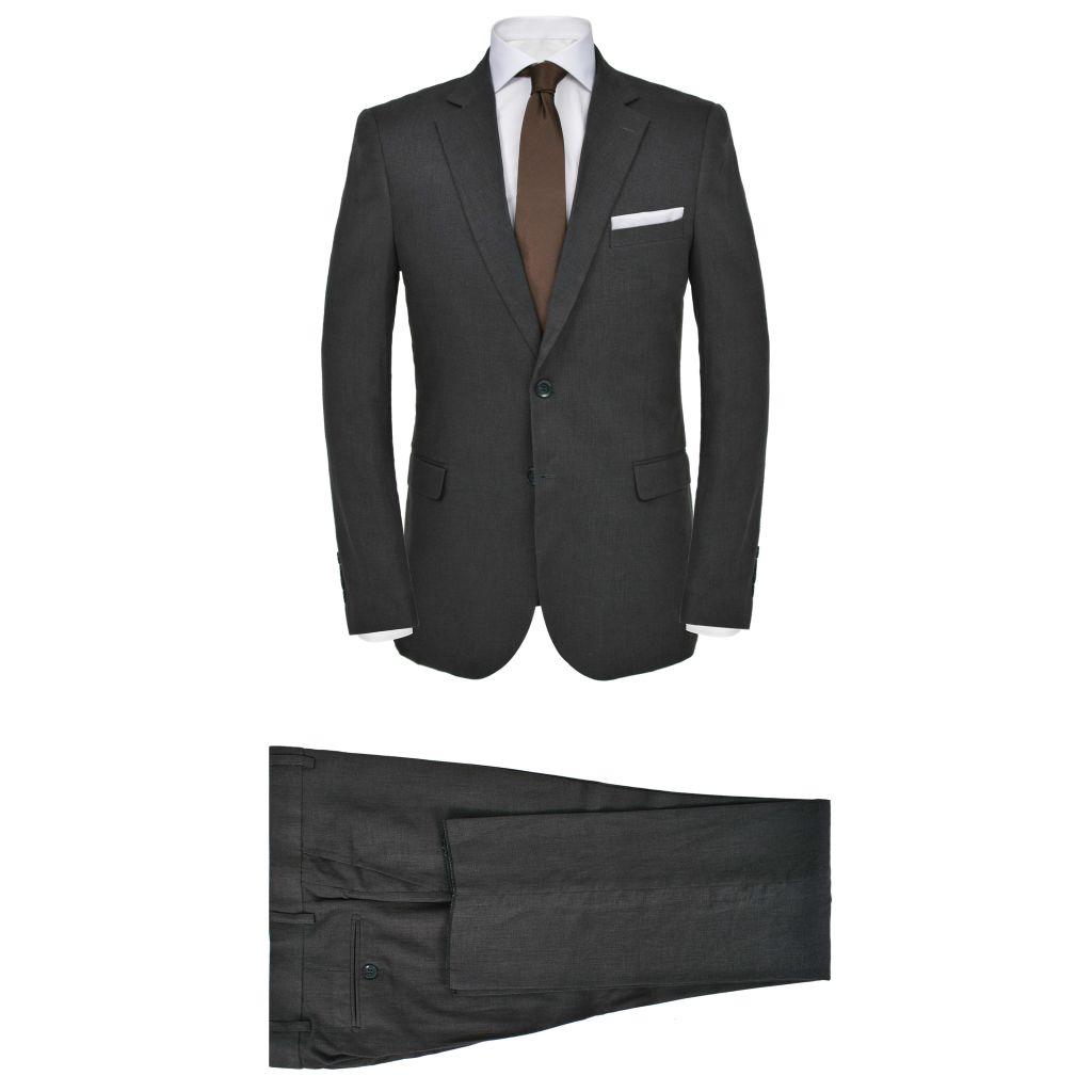 9e213c47115 meeste linane kaheosaline ülikond, suurus 54, tumehall - JUNIIK.EE