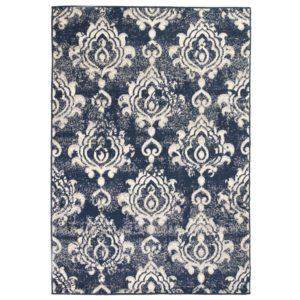 moodne Paisley disainiga vaip  120 x 170 cm beež/sinine