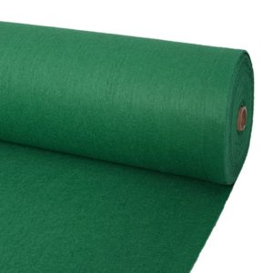 näitusevaip sile 1 x 12 m roheline