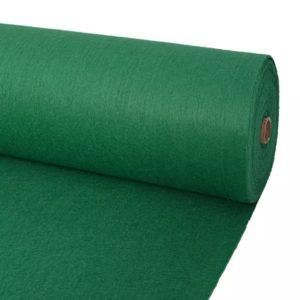 näitusevaip sile 1 x 24 m roheline