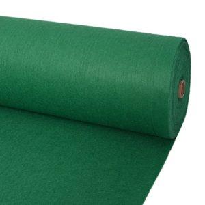 näitusevaip sile 2 x 12 m roheline