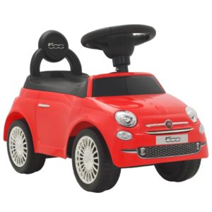pealeistutav auto Fiat 500 punane
