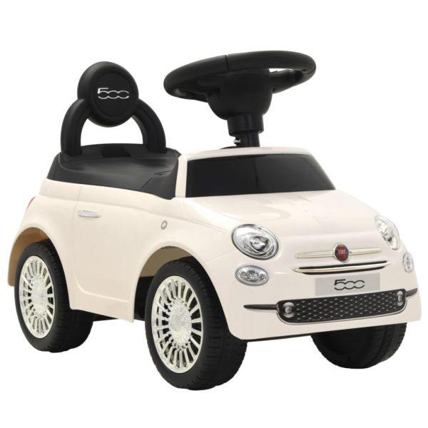 pealeistutav auto Fiat 500 valge