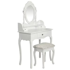 peegli ja pingiga tualettlaud