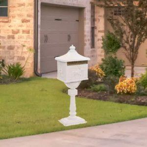 posti otsas vanaaegne postkast