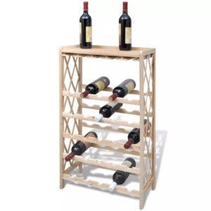 puidust veiniriiul 25 pudelile