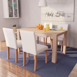 söögilaud ja toolid