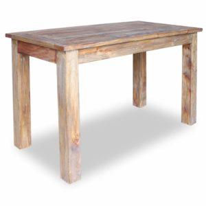 söögilaud taastatud puidust 120 x 60 x 77 cm