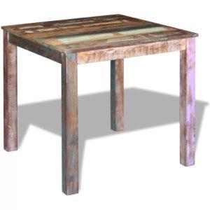 söögilaud taastatud puidust 80 x 82 x 76 cm
