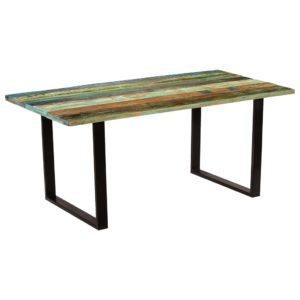 söögilaud toekast taastatud puidust 180 x 90 x 77 cm