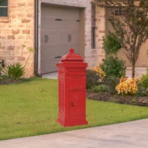 sambakujuline vanaaegne postkast