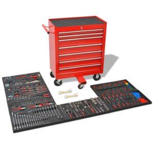 töökoja tööriistakäru 1125 tööriistaga