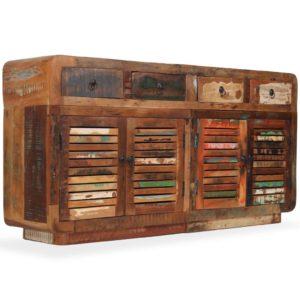 taaskasutatud puidust puhvetkapp 150 x 35 x 75 cm