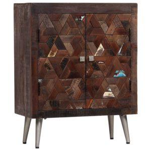taaskasutatud puidust puhvetkapp 60 x 30 x 76 cm