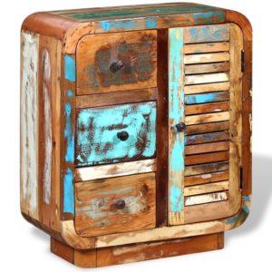 taaskasutatud puidust puhvetkapp