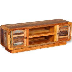 taaskasutatud puidust telerikapp 120 x 30 x 40 cm
