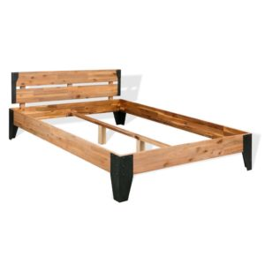toekast akaatsiapuidust voodiraam