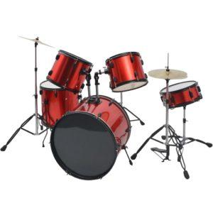 trummikomplekt pulbervärvitud terasest