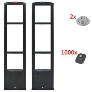 turvamärkide ja eemaldajatega RF-antenni süsteem