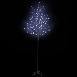 Õitsev LED puu sinise valgusega 180 cm