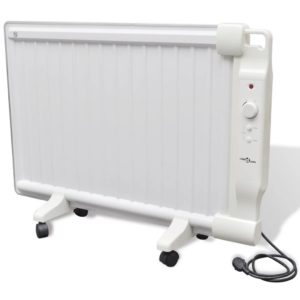 Õliradiaator 1000 W valge
