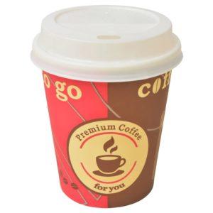 ühekordsed kohvitopsid 1000 tk kaantega 240 ml