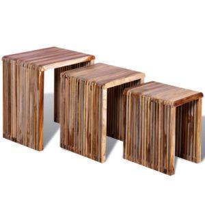 üksteise alla mahtuvad lauad