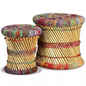 toolid 2 tk bambusest
