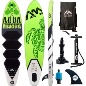 Aqua Marina aerusurfilaud roheline 300 x 75 x 15 cm