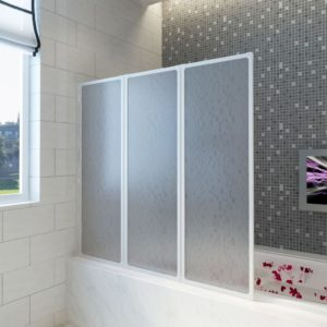 Duši/vannisein 3 paneeli kokkupandav 141 x 132 cm