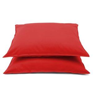 Emotion kortsumatud padjapüürid 2 tk 60 x 70 cm punane