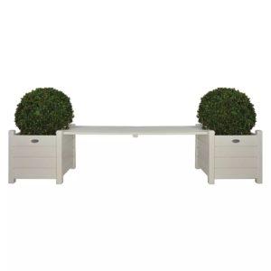Esschert Designi taimekastid koos sild-pingiga
