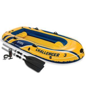 Intex Challenger 3  kummipaat aerudega ja pump 68370NP