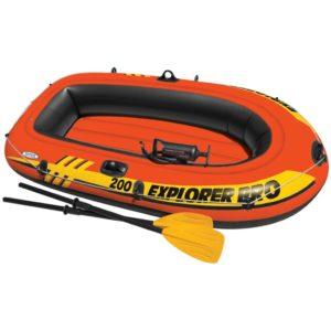Intex Explorer Pro 200 kummipaat aerudega ja pump 58357NP