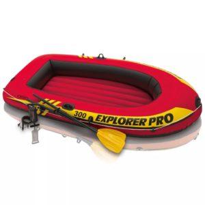 Intex Explorer Pro 300 kummipaat aerude ja pumbaga 58358NP