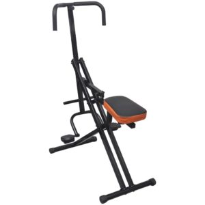Kõhulihaste treeningmasin must/oranž