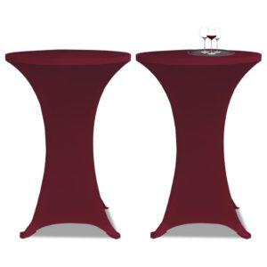 Kõrge laua kate 2 tk Ø 80 cm
